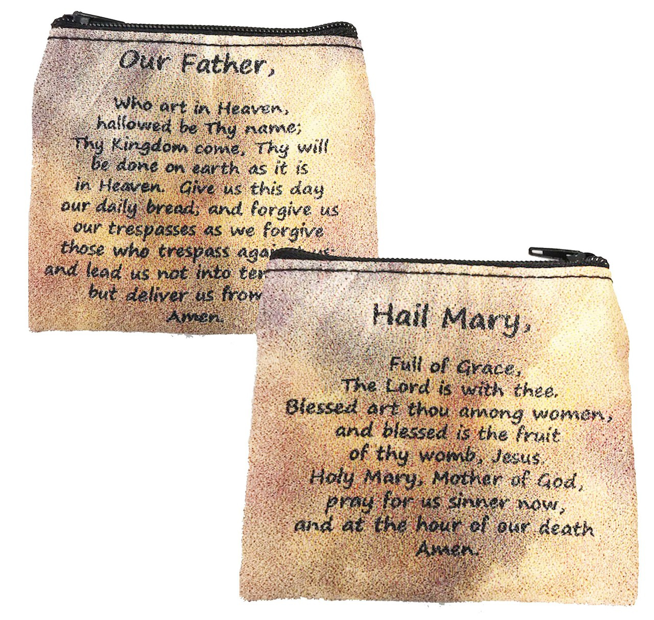 Hail Mary & Our Father Rosary Case - Style RMP12