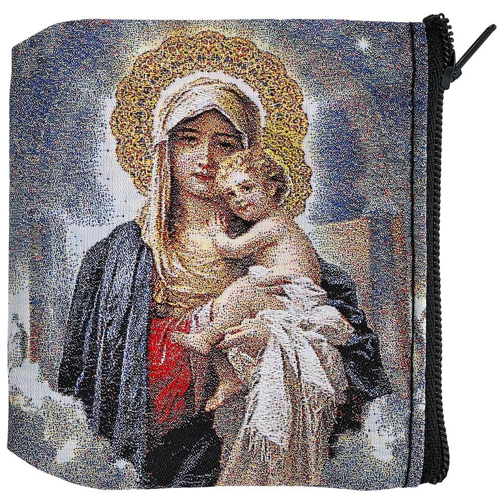 Mother & Child Rosary Case - Style RMP3